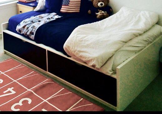 IKEA Twin platform bed w/ Storage!