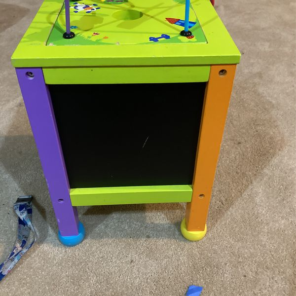 Wooden Baby Learning Table