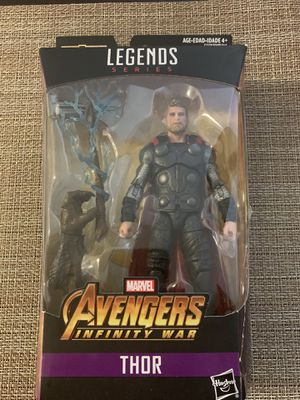 Avengers Thor Action Figure Legend Series for Sale in Montebello, CA