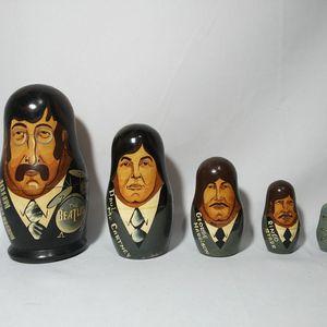 The Beatles Nesting Dolls Memorabilia Vintage for Sale in Chula Vista, CA