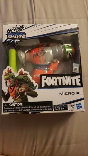 Fortnite nerf micro shoots gun for Sale in Riverside, CA