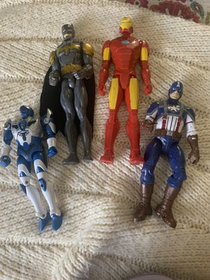 4 large Action Heroes for Sale in Portland, OR