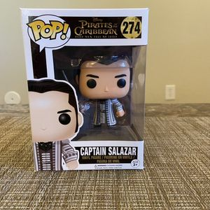 Funko POP! Disney Pirates Of The Caribbean Captain Salazar for Sale in Gilbert, AZ