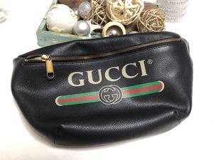 Gucci Belt Fannypack Black Bag Crossbody Waist Bag for Sale in Greenwich, CT