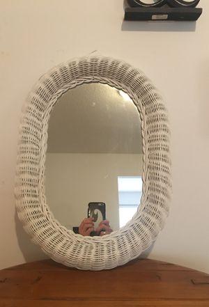 Nice Wicker Outdoor Mirror for Sale in West Palm Beach, FL