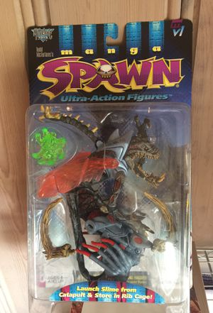 "New IOB McFarlane Toys ""Spawn Ultra-Action Figures Manga Violator"" series 9 circa 1997 for Sale in Tacoma, WA"