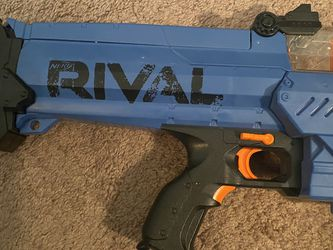 Blue Nerf Rival Nemesis mxvii-10k blaster for Sale in Byron,  CA