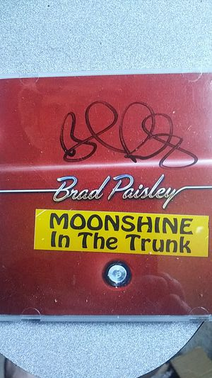 Autographed Brad Paisley cd for Sale in Attleboro, MA