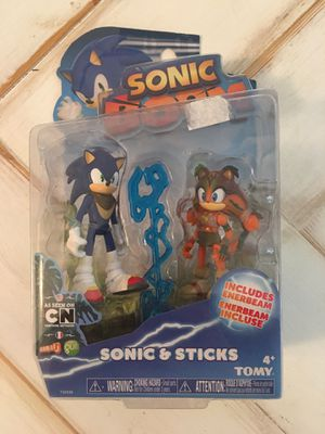 Sonic Boom - Sonic and Sticks Tomy Action Figures for Sale in Brentwood, CA