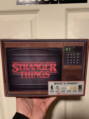 Stranger Things Collectable Box for Sale in Fresno, CA