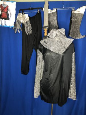 Knight Medieval men's XL Halloween Costume with Sword for Sale in Los Angeles, CA