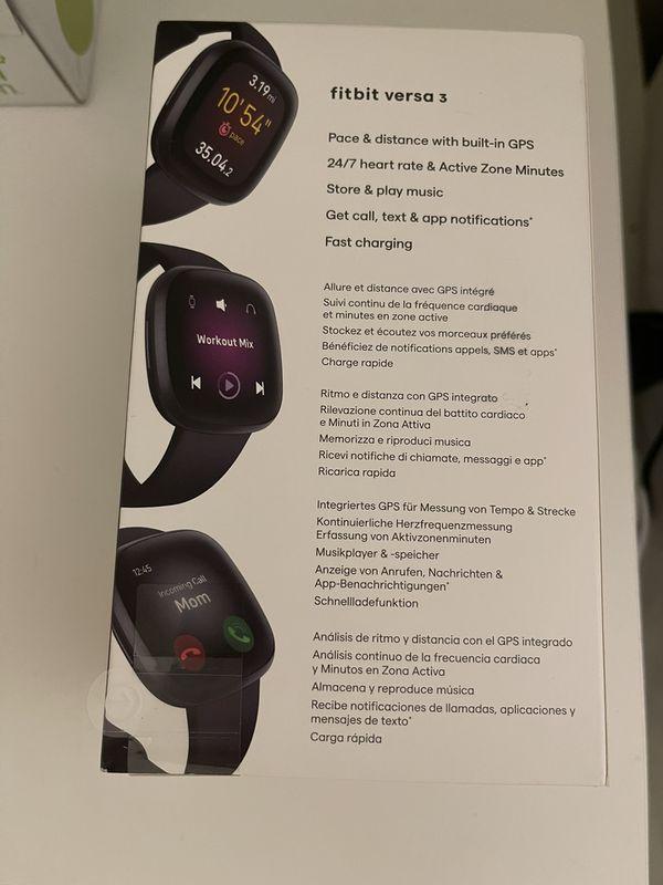Fitbit Versa 3 New