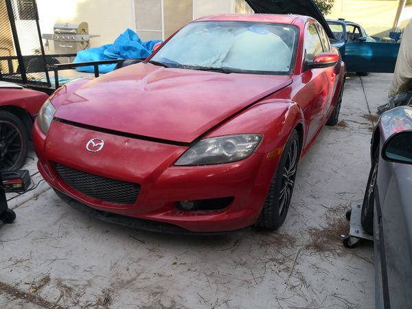 2004 Mazda RX-8 Base 6 speed