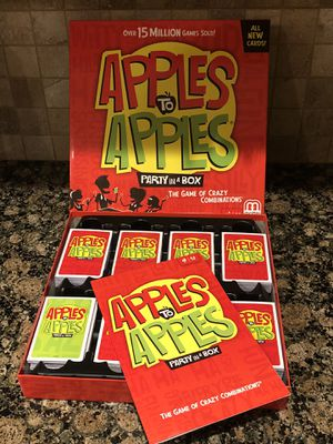 New Apples to Apples board game for Sale in Dearborn Heights, MI