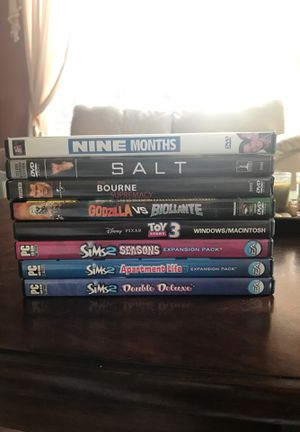 Assorted movies and games bundle for Sale in Mill Creek, WA