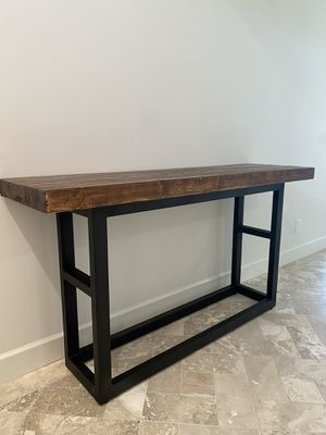 Pottery Barn Griffin Console Table for Sale in San Rafael, CA