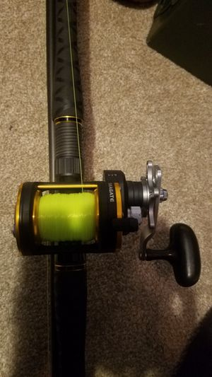 Fishing rod and reel for Sale in Virginia Beach, VA