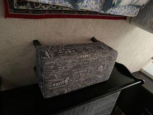 Storage ottoman for $65 for Sale in Herndon, VA