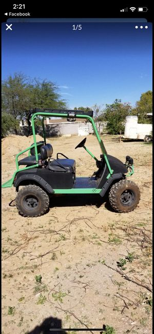 Monster branded lifted 2001EZGO Golf Cart. Ready for off road for Sale in Phoenix, AZ