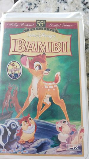 Bambi vhs for Sale in Austin, TX