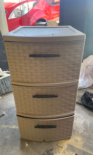 Sterilite three drawer cabinet for Sale in Bakersfield, CA
