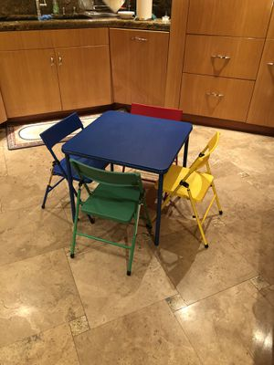 Kids table and chairs for Sale in San Diego, CA