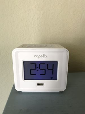 Capello Alarm Clock for Sale in PT CANAVERAL, FL
