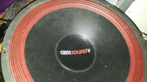"15"" Gem sound. subwoofer 600w for Sale in Philadelphia, PA"