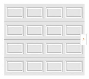 New Clopay Classic Collection 8 ft. x 7 ft. Non-Insulated White Garage Door for Sale in Orland Park, IL