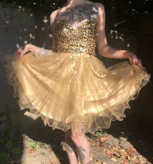 Gold Sequin Dress for Sale in Seattle, WA