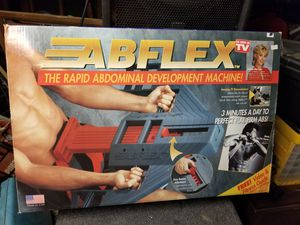 Vintage 90s Original AbFlex As Seen On TV Ab Flex Abdominal Exercise Made In USA for Sale in San Bernardino, CA