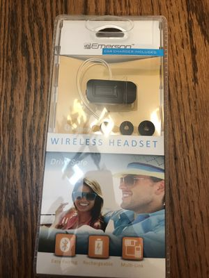 Emerson wireless headset for Sale in Bolingbrook, IL