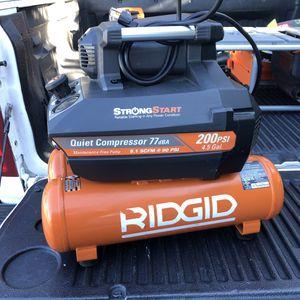 Ridgid 4.5 gal Compressor for Sale in Santa Ana, CA