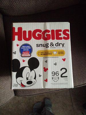 Huggies Size 2 Diapers for Sale in Lemon Grove, CA