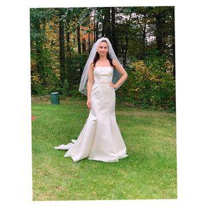 "Wedding dress ""David's "" for Sale in Uxbridge, MA"