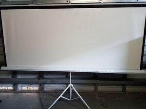 White Tripod Projector Screen Model 600140 for Sale in Pembroke Pines, FL