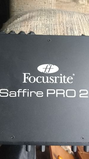 Focusrite Saffire Pro 24 Audio Interface for Sale in Olympia, WA