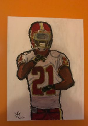 Original Sean Taylor Washington Redskins Painting for Sale in Chantilly, VA