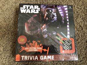 Disney Star Wars Trivia Game With 4 Lightsaber Puzzles 650 Questions New Never Used for Sale in Goodyear, AZ