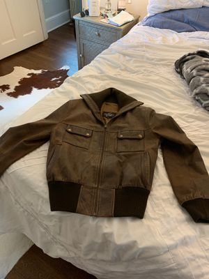 Women's bomber jacket (genuine leather) for Sale in Washington, DC