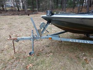 Boat motor and trailer for Sale in Foxborough, MA