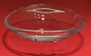 Nambe Handcrafted Full Lead Crystal Bowl for Sale in Byrnes Mill, MO