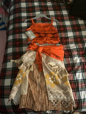 Moana costume New!!! for Sale in Riverside, CA
