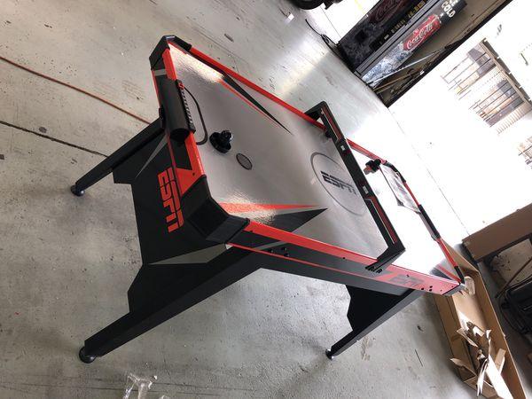 Air hockey table ESPN