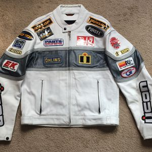 Icon motorcycle jacket size 44 for Sale in Franklin Township, NJ