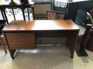 Mid century teak desk for Sale in Frederick, MD