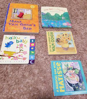 Children's board books about art for Sale in Lynnwood, WA