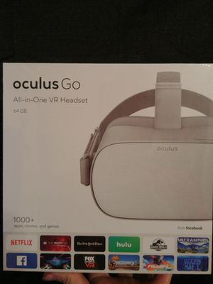 64GB Oculus Go VR Headset - Brand New and *Sealed* for Sale in Evington, VA
