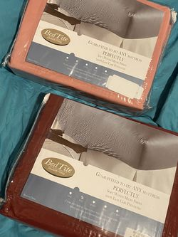 $50-2 different BRAND NEW NEVER OPENED FULL SIZE sheet sets sold together will not separate!- Paid $75 for the set- Collections Etc Bed Tite Soft Mi for Sale in Yakima,  WA