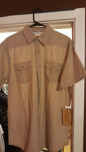 Dress shirt large dakota grizzly brand for Sale in Conway, KS